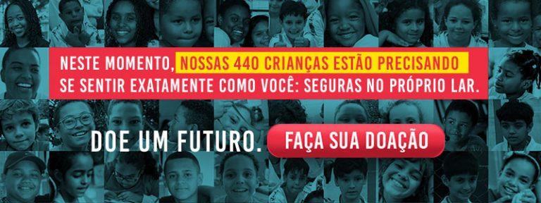 Doe um Futuro 440 crianças estão precisando
