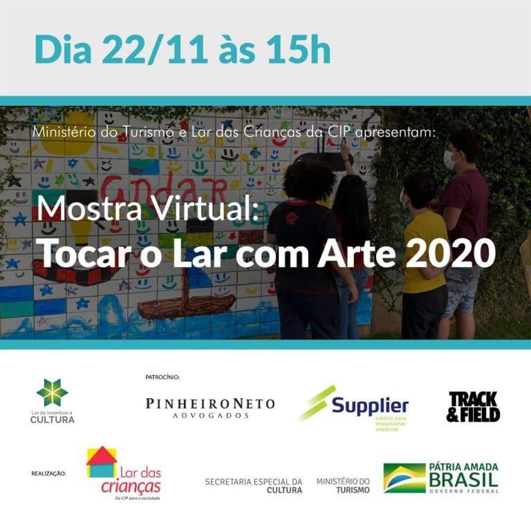 Convite da mostra 2020